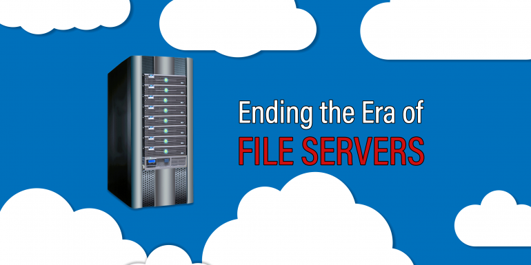 Ending the era of file servers with ShareSync